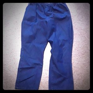 Women's Blue Pull On Jeans Size 18P